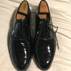 Florsheim Patent Leather Oxfords- Men's size 10